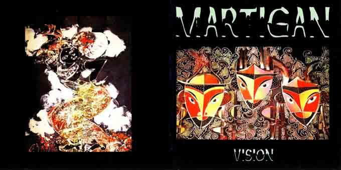 Martigan - Vision (CD, Album)   Discogs